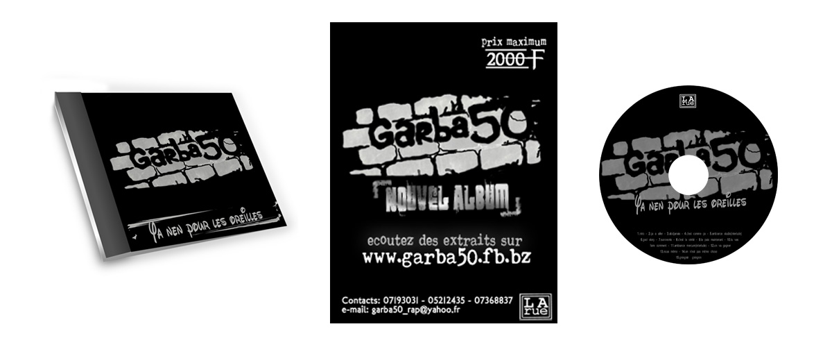 Garba50 Visuels premier lancement
