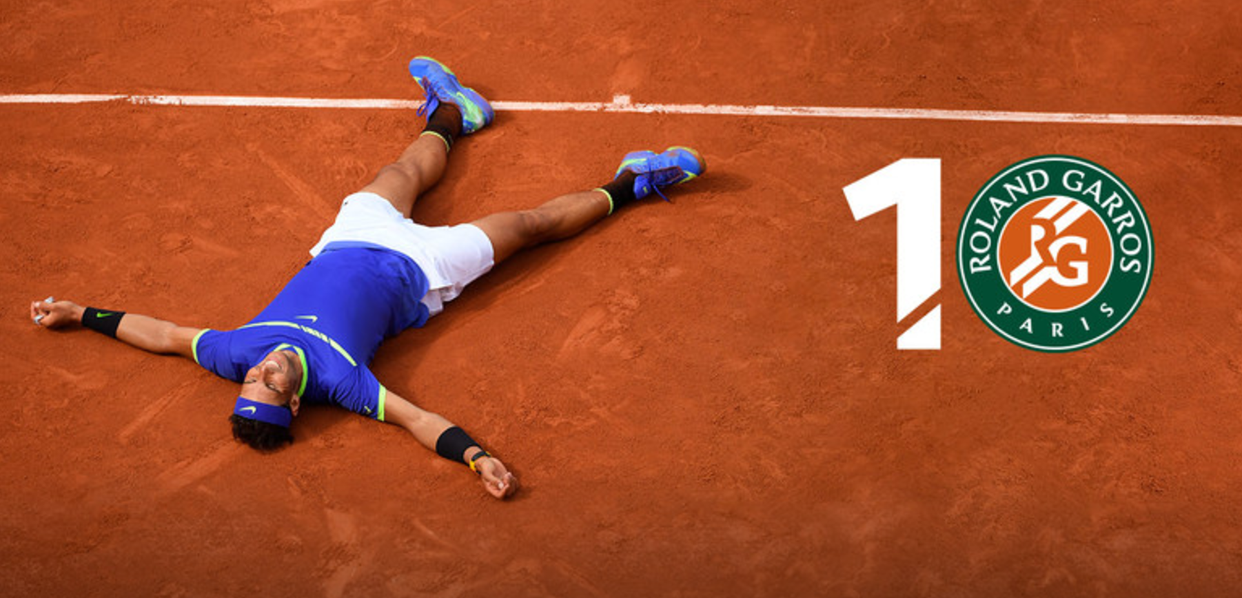 Rafa on Clay at Roland Garros