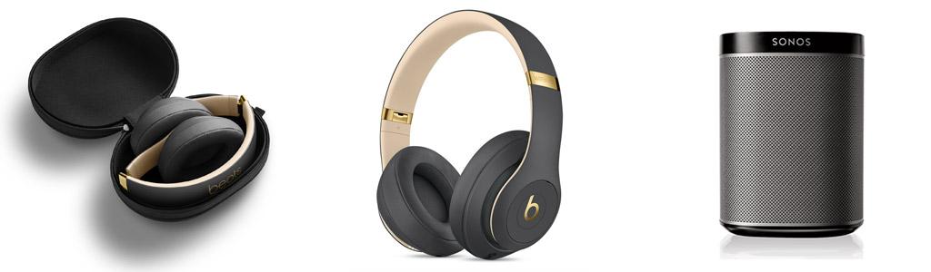 Beats, Beats studio 3 wireless, enceintes SONOS