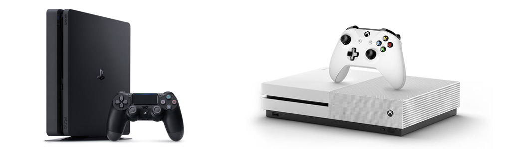 Playstation 4, xbox one s