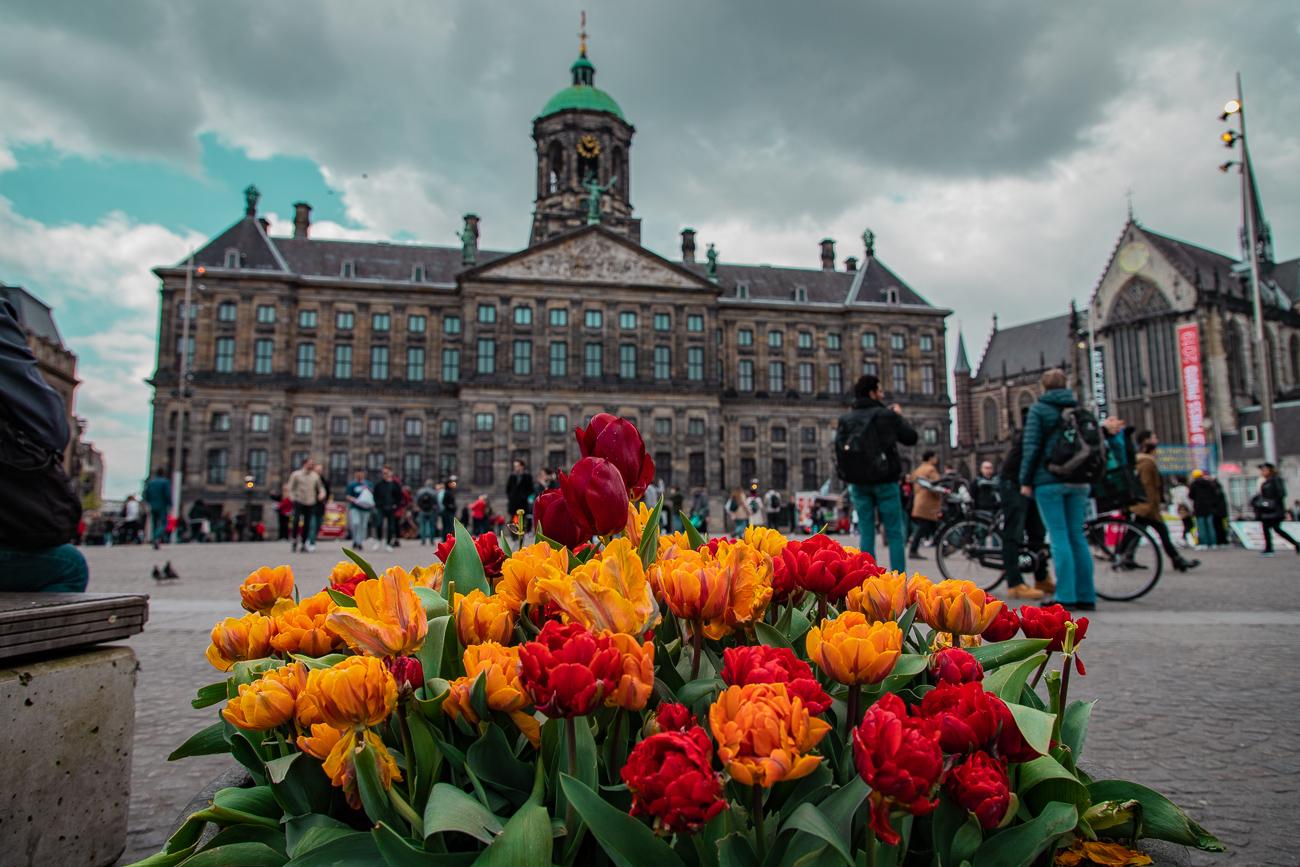 Place du Dam, Amsterdam, Dam square