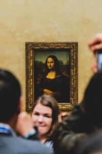 Mona lisa, la joconde, photographie