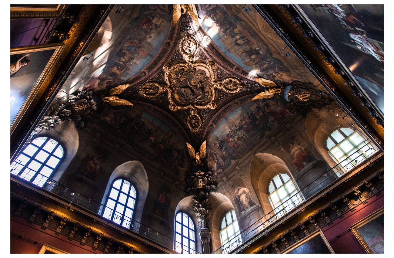Plafond Louvre